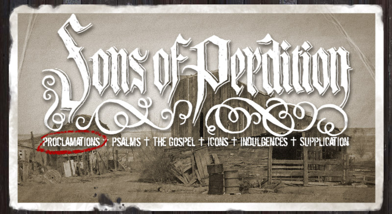 Sons of Perdition albums online + Sons of Perdition +