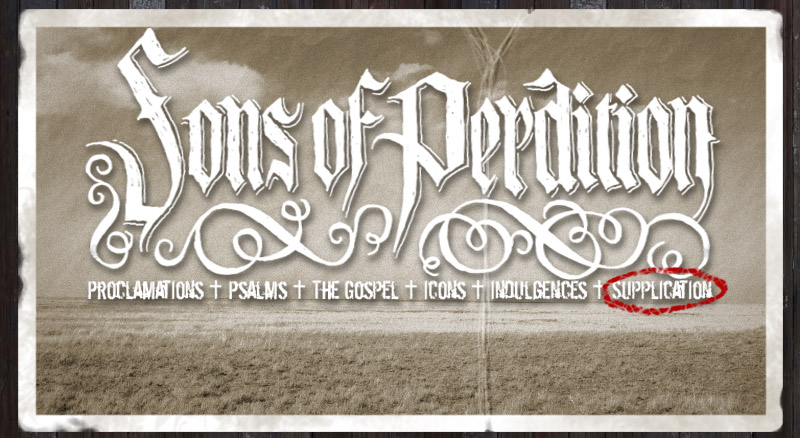 Login + Sons of Perdition +